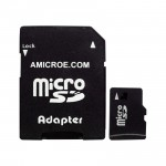 SONY ACTION CAM ACCESSORIES -- 8GB MEMORY CARD MICRO SD FOR ACTION CAM