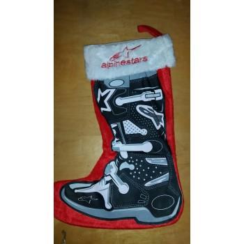 Smooth Industries LTD Edition Alpine Stars Xmas Stocking Red / Black