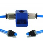 Split-Stream Uni Valve Kit for 2013 Kawasaki KYB SSF Pneumatic Air Forks