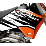 "STELLAR MX ""Bent"" Graphics Kit - Stock or Custom KTM"