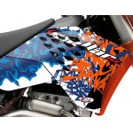 "STELLAR MX ""GRAFFITI"" Graphics Kit - Stock or Custom KTM"