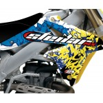 "STELLAR MX ""GRAFFITI"" Graphics Kit - Stock or Custom SUZUKI"
