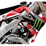 STELLAR MX  2012 ADAM JONES REPLICA GRAPHIC KIT HONDA CRF 250/450 08-13