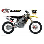 STELLAR MX OFFICIAL 2015 RCH SUZUKI TEAM SUPERCROSS GRAPHICS KIT