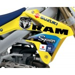 STELLAR MX OFFICIAL 2013 RCH SUZUKI RETRO 50th ANNIVERSARY GRAPHICS KIT