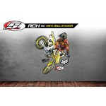 STELLAR MX  RICKY Carmichael Wall Decal